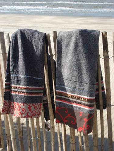 Los Angeles's ReForm School: Ladak blankets.  Shop floridaboxes.com for textile moving blankets.  #recycle #upcycle #moving
