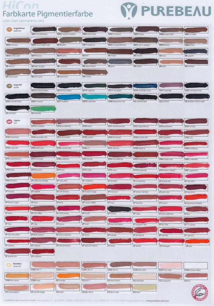 Pigmenti cosmetice Purebea