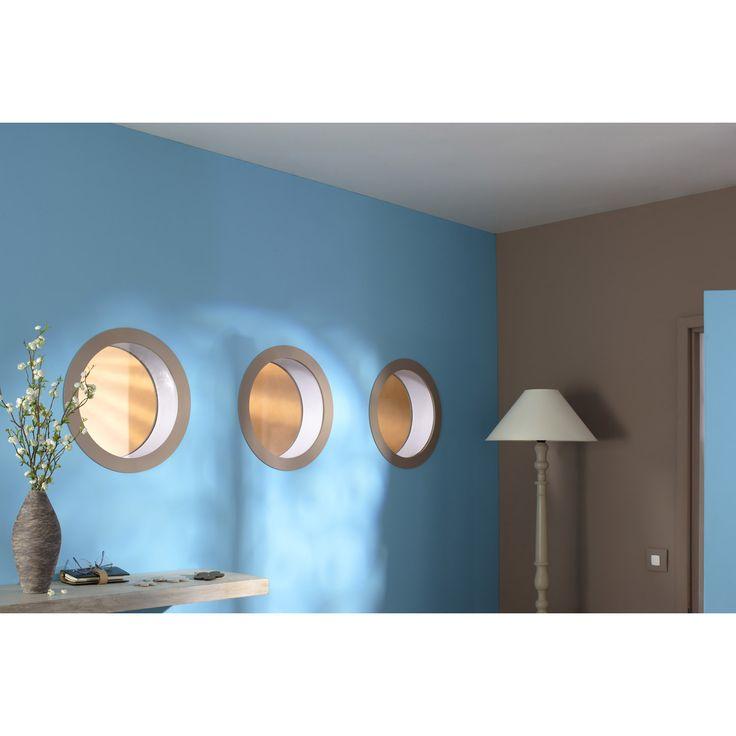 hublot de cloison artens rond en mdf brute 250 mm leroy. Black Bedroom Furniture Sets. Home Design Ideas