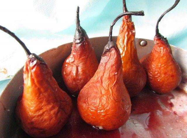 Denny Chef Blog: Pere cotte al vino rosso