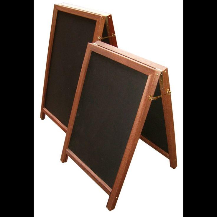 Image of Premium Hardwood A-Frame Blackboards