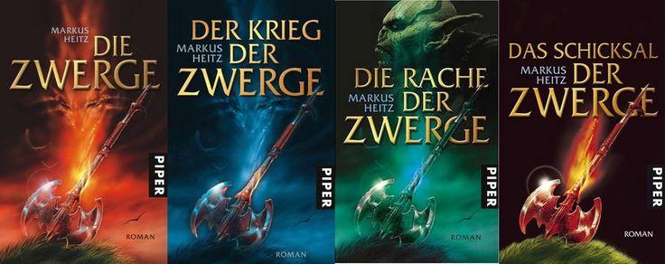 Markus Heitz - Zwerge Reihe