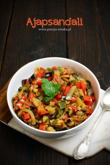 Ajapsandali - smażone warzywa po gruzińsku