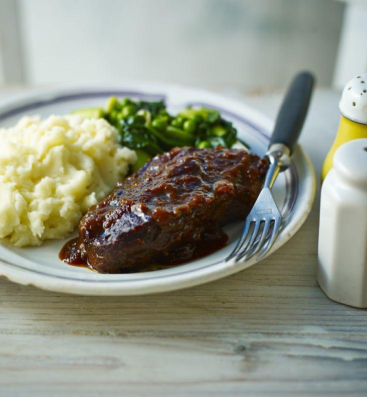 ... Braised Feather Blade Beef, Slow Cooker Steak, Braised Steak, Braised