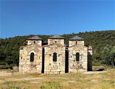 Basílica de Santa Lucía del Trampal.  Estilo Visigodo, s.VII. Alcuéscar, Cáceres, Extremadura, España
