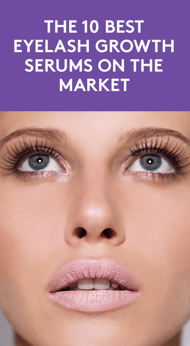 The 10 Best Eyelash Growth Serums On the Market |  Achieving longer, fuller lashes without extensions or falsies may seem too goo to be true, but if you want lengthier lashes that are the real deal, it is possible with a lash growth serums. These products are packed with conditioning peptides and fatty acids to stimulate and promote growth. The best part: they're pretty simple to apply, too. Here, we've rounded up the best serums that will help you get the long lashes of your dreams.