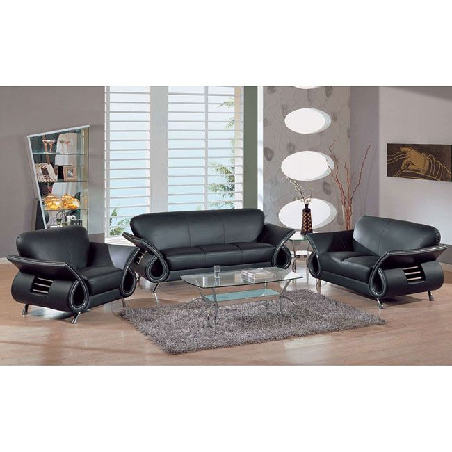 20 best living room images on Pinterest Living room sets - black living room set