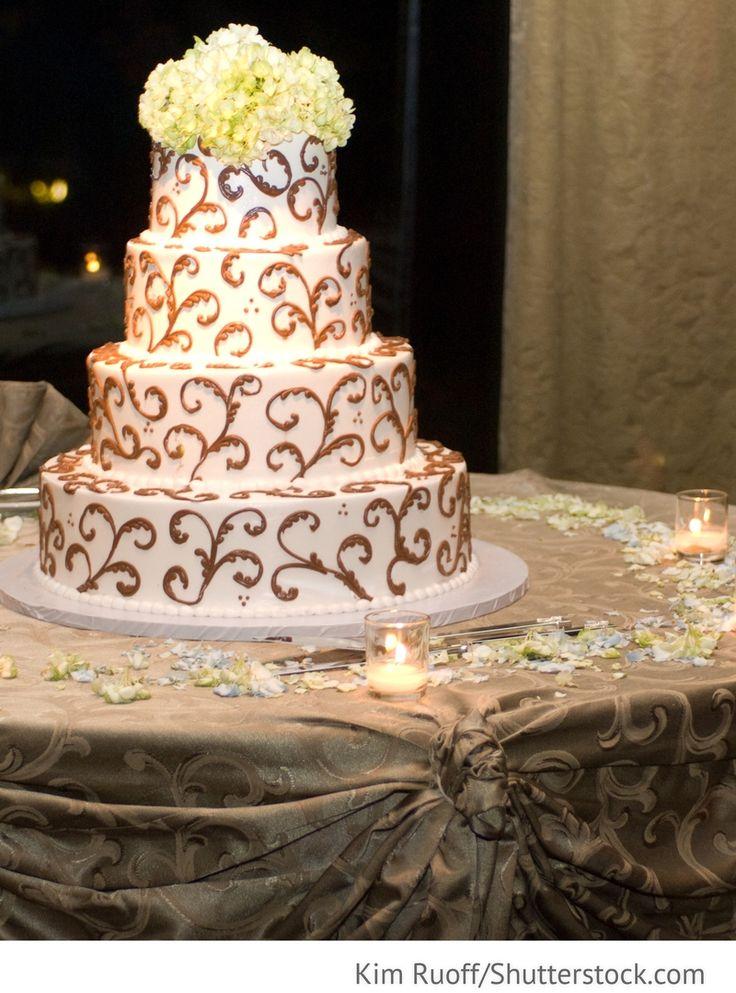 Hochzeitstorte 4 Etagen für russische Hochzeiten