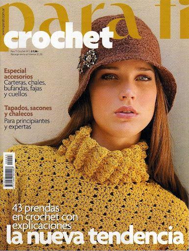 Para Tí Crochet Nº 03 - Melina Crochet - Álbumes web de Picasa
