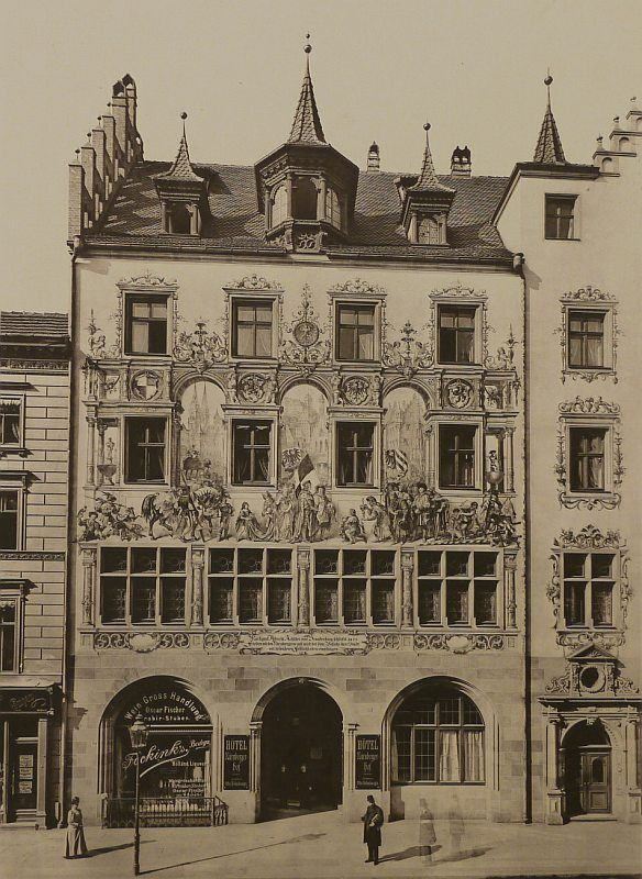 Berlin in alten Bildern - Seite 10 - Berlin - Architectura Pro Homine, Friedrichstraße 180, Tucher-Brauereihaus (nicht erhalten).