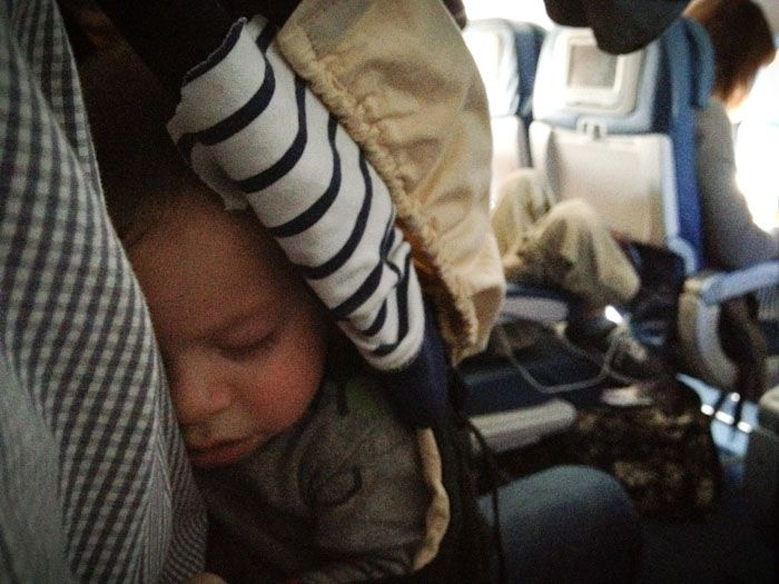 Flying with a baby or toddler. Great tips Christy Woods
