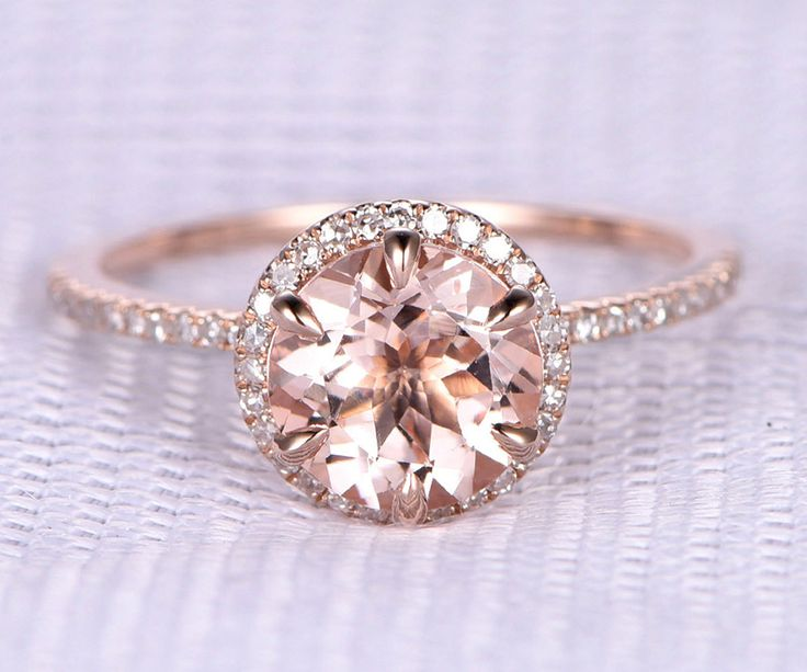 Our pick of the Best Engagement Rings - The round cut   CHWV