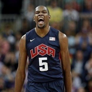 Kevin Durant led Team USA in scoring during the Olympics. (Getty Images)