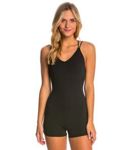 Free People Zone in Yoga & Dance Leotard - Black - M