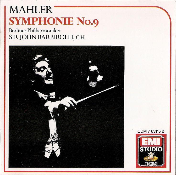 Mahler: Symphony no.9. Berliner Philharmoniker, Sir John Barbirolli. EMI (1964) CDM 7-63115-2