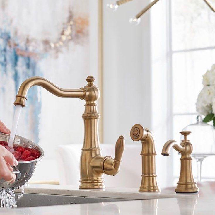 moen s weymouth kitchen faucet in