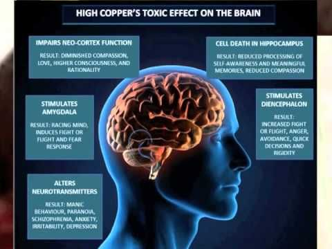 Copper Toxicity - The Psycho-Physiological Effects - by Mg person!