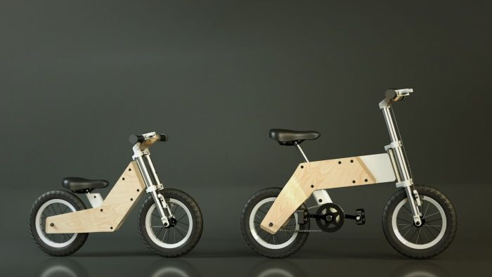 This Bike Grows Up With Your Kids, So You Don't Have To Keep Buying New Ones | Co.Exist | ideas + impact