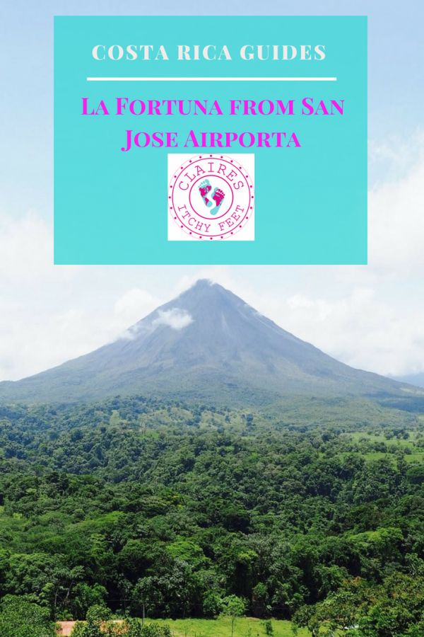 Planning your trip to Costa Rica? If you decide that you want to go straight to La Fortuna (and you should because it's amazing) then read on for my guide to getting there from San Jose Airport.