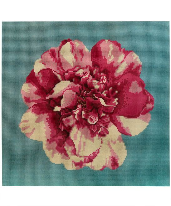 Camellia blossom needlepoint kit from the Elizabeth Bradley collection (from Liberty of London)