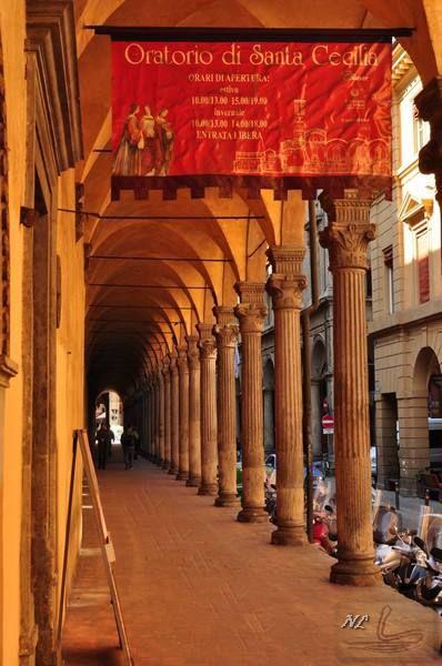Bologna, Via Zamboni, foto di Leonardo Nocco