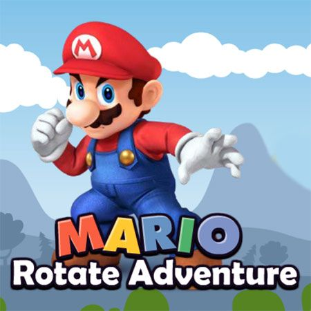 Mario Rotate Adventure game is a free Adventure Games. Here you can play this game online for free and You can play this game in full-screen mode in your browser for free without any annoying AD