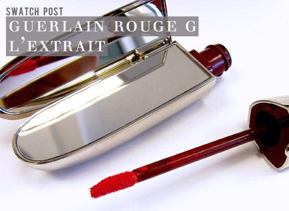 Kuvahaun tulos haulle Guerlain Rouge G L'Extrait -huulilakka (M27 Luxure)