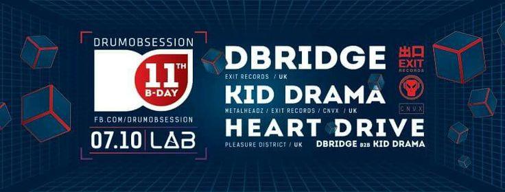 #autonomic #heartdrive #kiddrama #dbridge #drumobsession #do #poznań #poznan #projektlab
