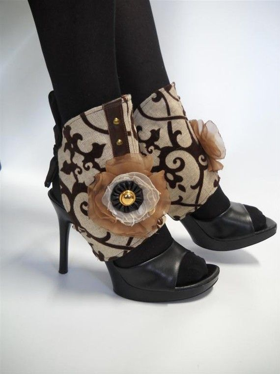 Spats cheaper prob than having to buy sp shoes and get look u want or they could match, that might be cool