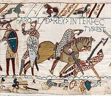The death of King Harold October 14, 1066 - Scene 57.