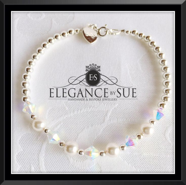 A personal favourite from my Etsy shop https://www.etsy.com/uk/listing/518246014/sterling-silver-bead-and-swarovski-pearl