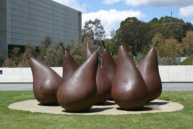 Pear no.2 by George Baldessin, Canberra, Australia