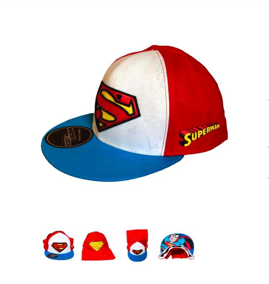 www.mascaradelatex.com #MascaraDeLatex #fashion #moda #streetfashion #geek #ModaUrbana #caps #tshirt #skate #gorra #accesorios #Superman