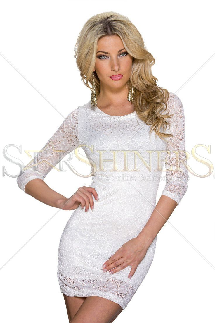 Single Touch White Dress