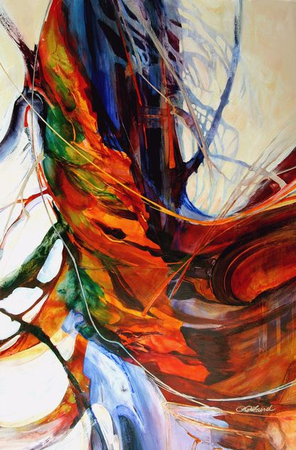 73 Best Images About Wonderful Colorful Abstract Artwork