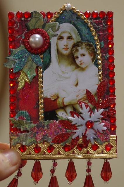 madonna and child by butterflie1, via Flickr