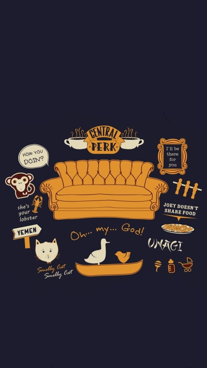 Image By Maddy On Friends Friends Tv Friends Wallpaper