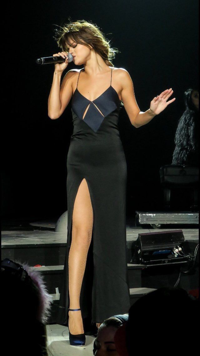 Selena Gomez performing at her Revival Tour - July 2016