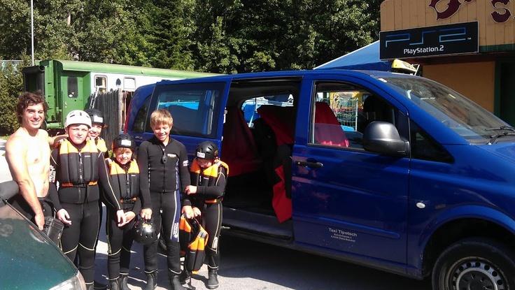 Rafting Taxi - Unterwegs zu den besten Einstiegsstellen zum Mountainbiken, Canyoning, Rafting, Wandern und vieles mehr! Austria Taxi Tipotsch ist das Sommer Taxi für Tirol und besonders als Taxi Ötztal sehr gefragt. Wir bringen Sie sicher und schnell zu den schönsten Plätzen.