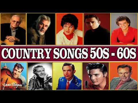 Best Classic Country Songs Of 50s 60s - Top 100 Country Songs Of 50s 60s - Greatest Country Music - YouTube
