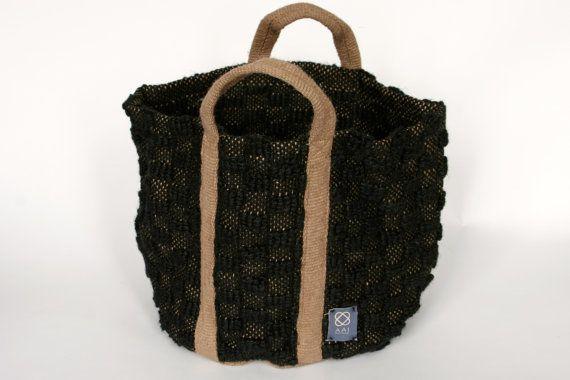 ... of sisal by AAImadewithlove on Etsy, €85.00 #basket #sisal #recycled