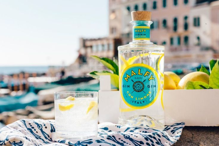 Malfy Gin, Such a beautiful vibrant bottle