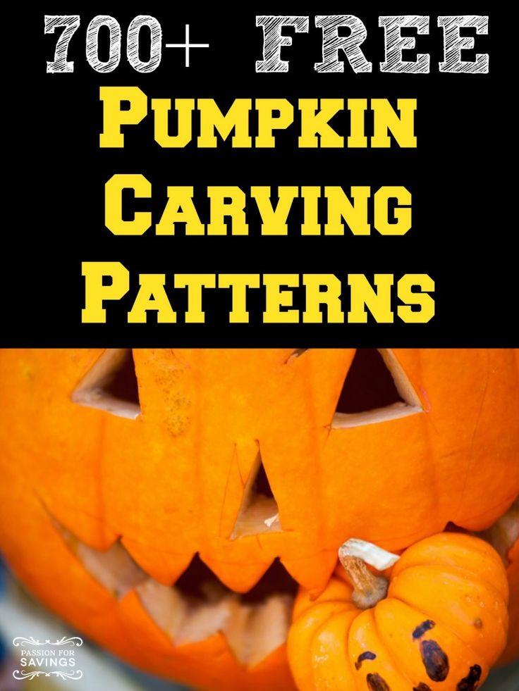 Autumn Pumpkin Carving Over 700 Free Pumpkin Carving