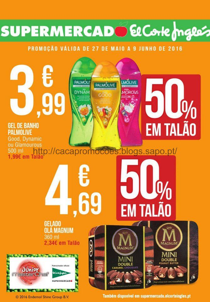 Promoções Supermercado El Corte Inglês - Folheto 27 maio a 9 junho - http://parapoupar.com/promocoes-supermercado-el-corte-ingles-folheto-27-maio-a-9-junho/