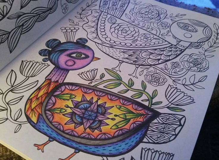 By Dawn Bryan From Posh Coloring Happy Doodles With Crayola Pencils