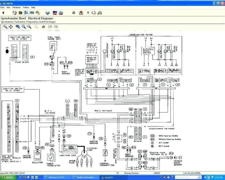 Inspirational 240sx Wiring Diagram In 2020 Nissan 240sx Nissan Diagram