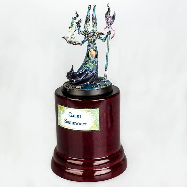 Gaunt Summoner - Ganador Slayer Sword Golden Demon European Open Day 2016