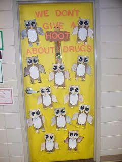 Teaching InStyle: Drug Free Door Decorating