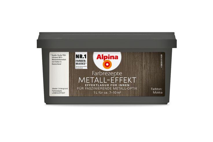 Alpina Farbrezepte METALL-EFFEKT Mokka