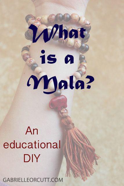 what is a mala DIY mala gabrielle orcutt photography yoga